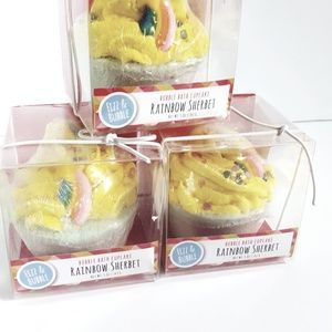Fizz&Bubble Bath - Bath brittle + bubble bath cupcakes 5 pieces - NEW